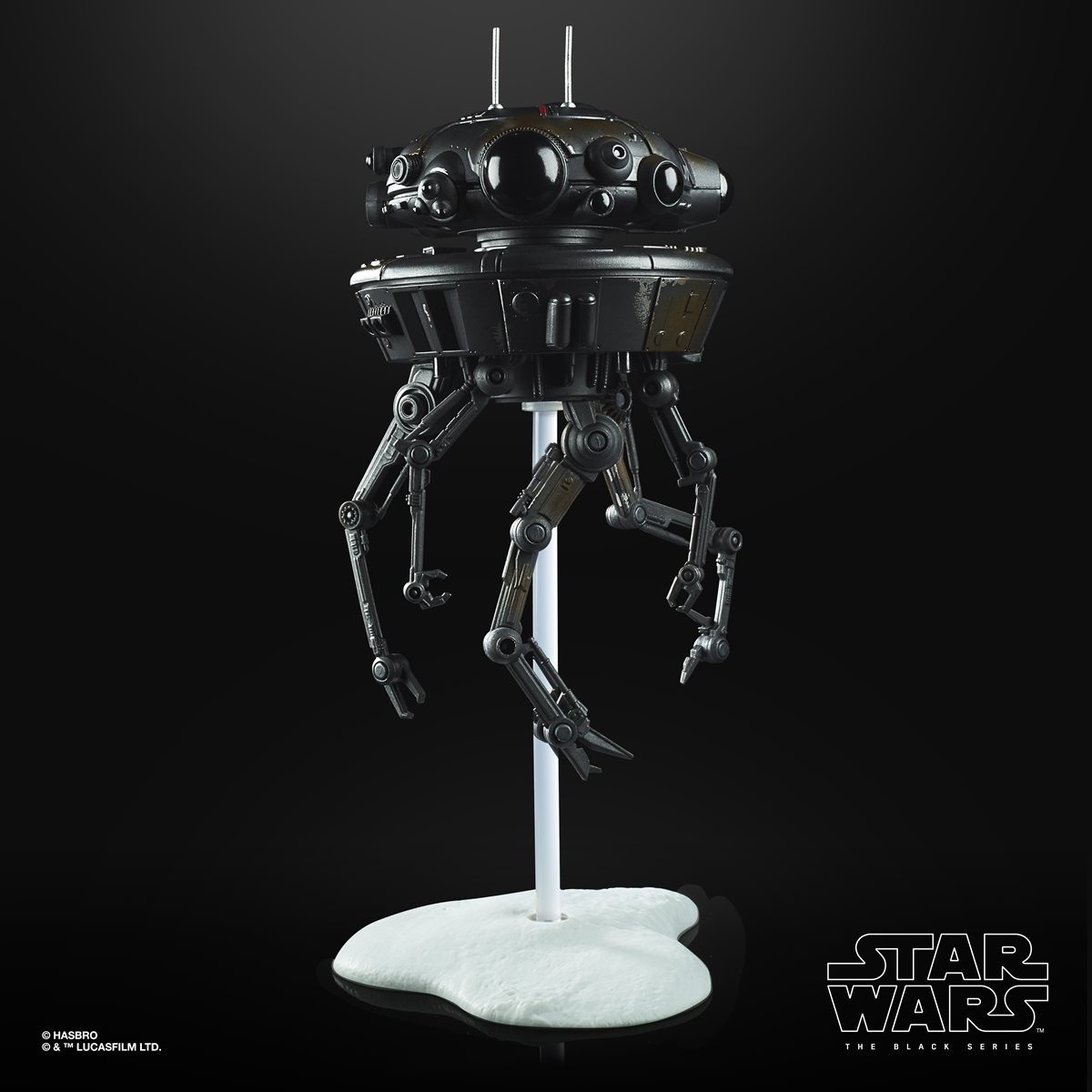 Mint On Card 6 Inch Star Wars the Black Series Imperial Probe Droid