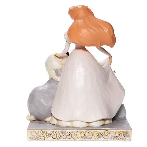 Disney Traditions Little Mermaid White Woodland Ariel Spirited Siren by Jim Shore Statue