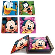Mickey Mouse and Friends StarFire Prints Glass Coaster Set