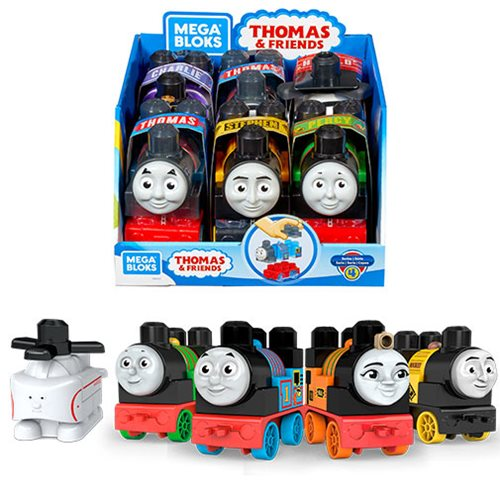 Thomas and Friends Mega Bloks Buildable Engine Case