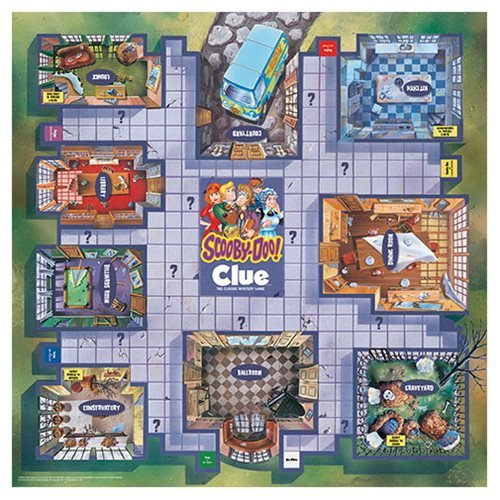 Scooby-Doo Clue Game