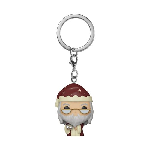 Harry Potter Holiday Dumbledore Pocket Pop! Key Chain