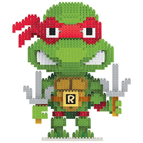 Teenage Mutant Ninja Turtles Raphael 3D BRXLZ Construction Set