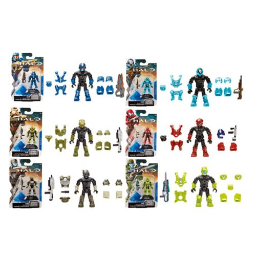 Mega Bloks Halo Heroes Series 1 Mini-Figure Case