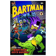 Simpsons Bartman #1 Comic Book Cover Canvas Giclee Print