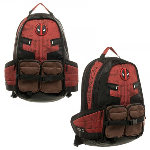 Deadpool Laptop Backpack