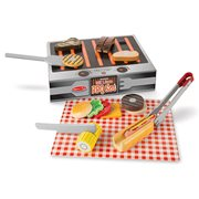 Grill and Serve BBQ Set Wooden Playset