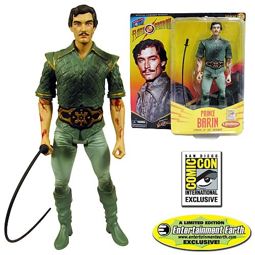 Alex Ross Flash Gordon Barin Battle 7-Inch Action Figure - Convention Exclusive
