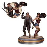 Wonder Woman and Steve Trevor Movie Statue