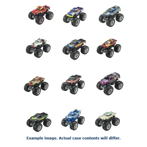 Hot Wheels Monster Jam 1:64 Scale 2017 Wave 4 Case
