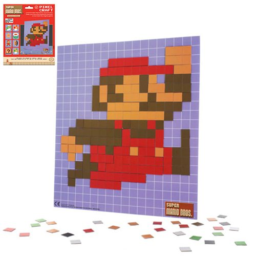 Super Mario Bros. Pixel Craft