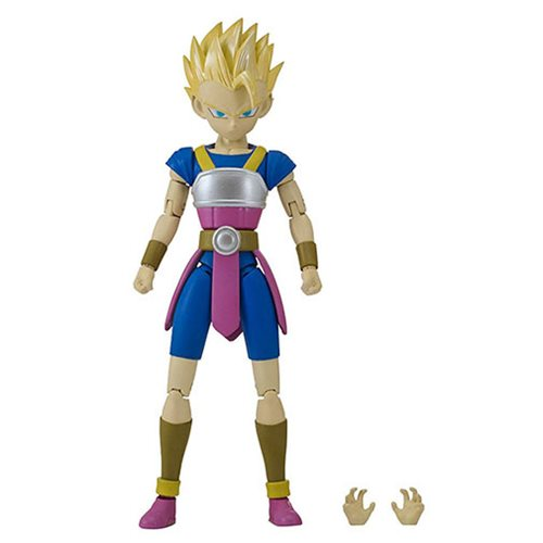 Dragon Ball Stars Super Saiyan Cabba Action Figure, Not Mint