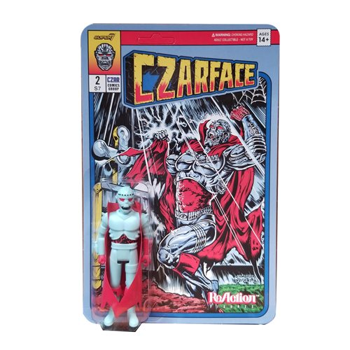Czarface Comic Recolor 3 3/4-Inch ReAction Figure