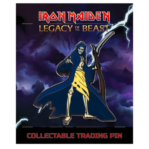 Iron Maiden Legacy of the Beast Reaper Eddie Lapel Pin
