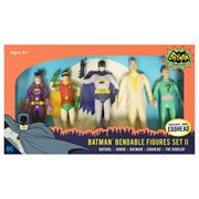 Batman Classic TV Series 5 1/2-Inch Bendable Figure Box Set Wave 2