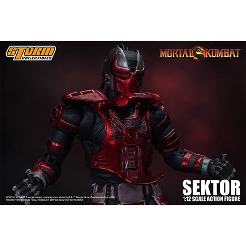 Mortal Kombat Sektor 1:12 Scale Action Figure