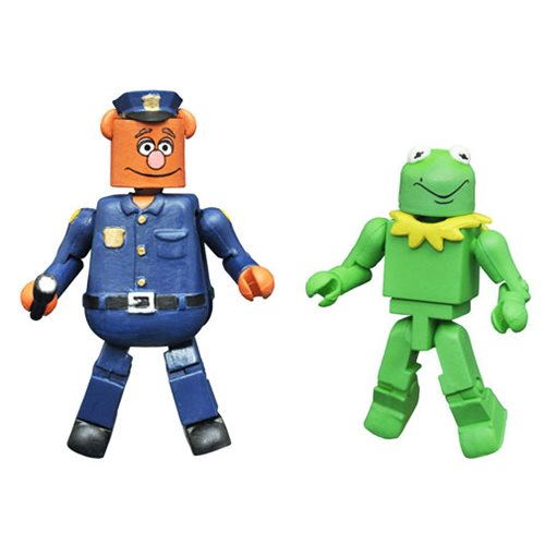 Muppets Minimates Series 3 Kermit as Constantine and Fozzie Bear on Patrol 2-Pack