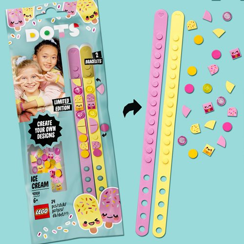 LEGO 41910 DOTS Ice Cream Besties Bracelets