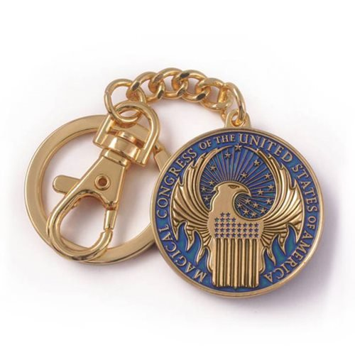 Fantastic Beasts and Where to Find Them MACUSA Crest Keychain