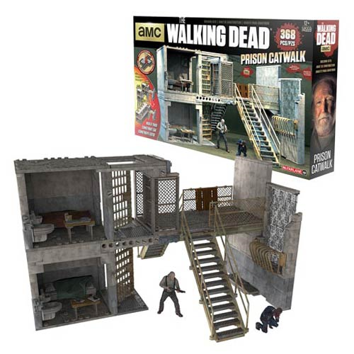 The Walking Dead Prison Catwalk Construction Set
