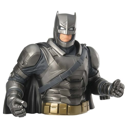 Batman V Superman: Dawn of Justice Armored Batman Bust Bank