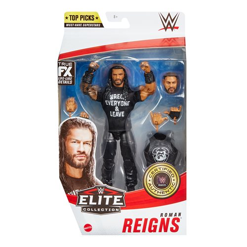 WWE Top Picks 2021 Roman Reigns Elite Action Figure