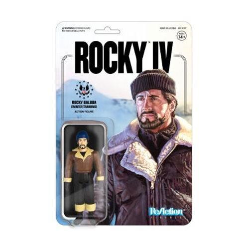 Rocky IV Rocky Balboa Winter Training ReAction Figure