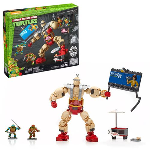 Teenage Mutant Ninja Turtles Classic Mega Bloks Krang's Rampage Playset
