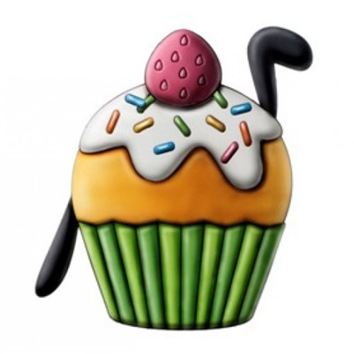 Goofy Cup Cake Scented PVC Magnet