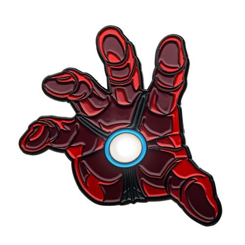Iron Man Hand Light-Up Pin