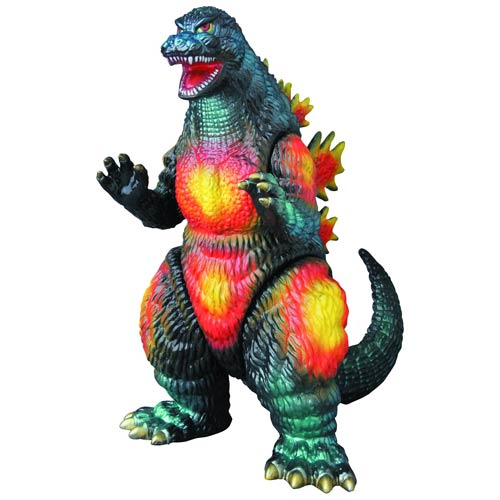 Godzilla Destroyah Roaring Version Sofubi Vinyl Figure - Previews Exclusive
