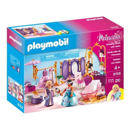 Playmobil 9158 Dressing Room with Salon