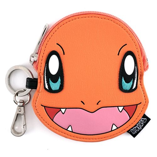 Pokemon Charmander Face Coin Bag