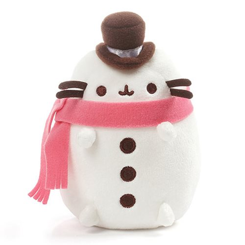 Pusheen the Cat Pusheen Snowman 6 1/2-Inch Plush