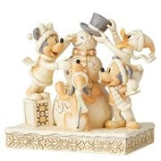 Disney Traditions Fab Four White Woodland Frosty Friendship by Jim Shore Statue