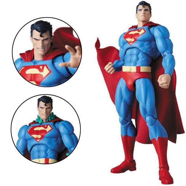 Batman Hush Superman Mafex Action Figure