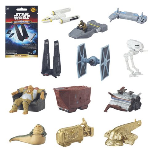 Star Wars TFA MicroMachines Vehicles Blind Bag Wave Wave 4