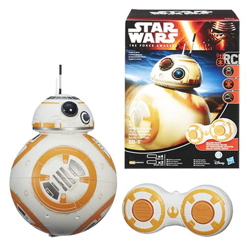 Star Wars: The Force Awakens RC Radio Control BB-8 Droid
