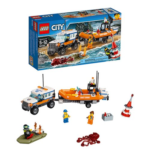 LEGO City Coast Guard 60165 4x4 Response Unit