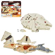 Star Wars The Force Awakens MicroMachines Millennium Falcon Playset