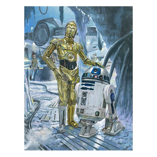 Star Wars Waiting at the South Entrance by Bryan Snuffer Canvas Giclee Art Print