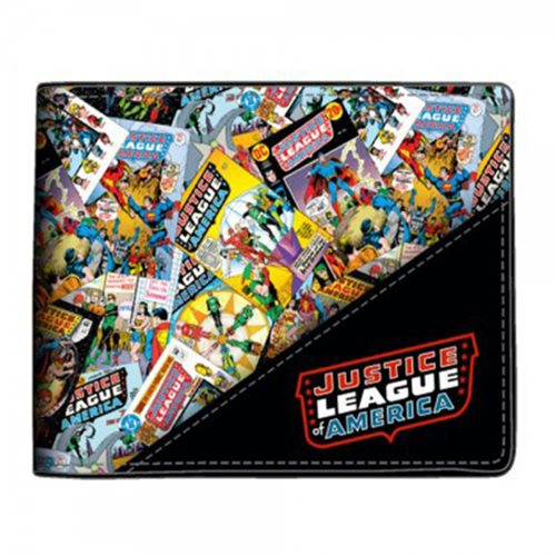 Justice League All-Over-Print Wallet