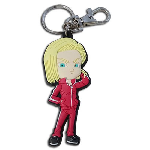 Dragon Ball Super SD Android 18 PVC Key Chain