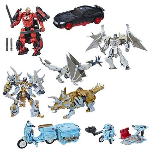 Transformers The Last Knight Premier Deluxe Wave 2 Set