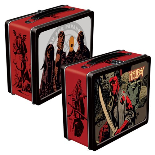 Hellboy and the B.P.R.D. Tin Tote Lunch Box