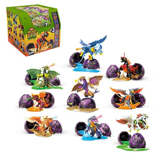 Mega Construx Breakout Beasts Egg Series 3 Case