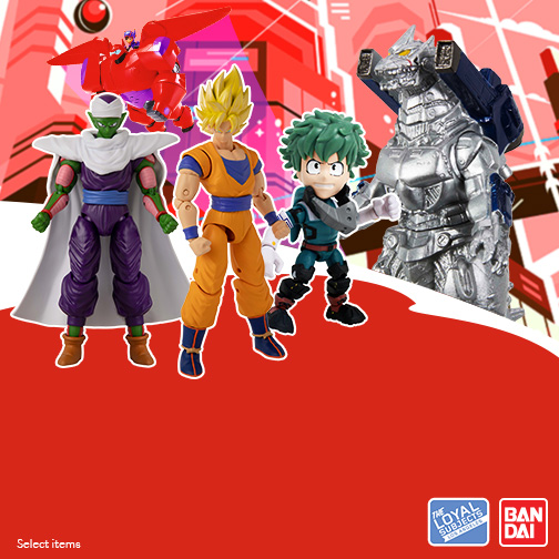 Anime-Zing Sale! Bandai and The Loyal Subjects  BOGO 40% Off