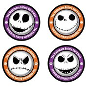 The Nightmare Before Christmas Jack Skellington Faces Coaster 4-Pack