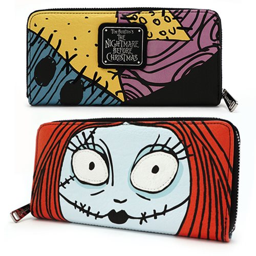 Nightmare Before Christmas Sally Face Wallet
