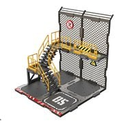 Scene in Box Iron Net Base Type A 1:24 Scale Building Diorama